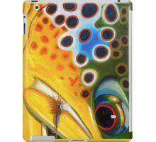 Brown Trout on Parachute Adams iPad Case/Skin