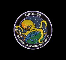 "NROL-39 ""Nothing Is Beyond Our Reach"" by Cameron McCall"