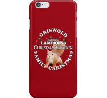 National Lampoon's -  White Text Squirrel Attack ..!! iPhone Case/Skin