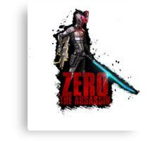 Borderlands 2 - Zer0 The Assassin Canvas Print