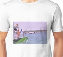 Team SignZoo Practicing for Tarpon Tournament Unisex T-Shirt
