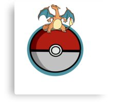 Charizard Pokemon Canvas Print
