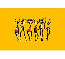 African dancers. Photographic Print