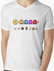 PACMAN Mens V-Neck T-Shirt