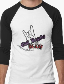 Evil Regals Are Making a Difference! Men's Baseball ¾ T-Shirt