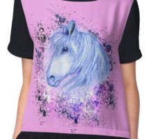Mystic Horse for Horse Lovers Chiffon Top