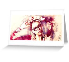 Orphan Black - Cosima Greeting Card