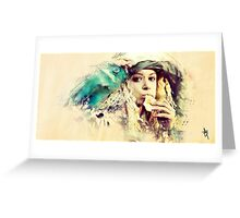 Orphan Black - Helena Greeting Card