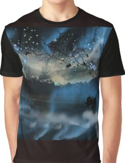 The Blue Mists Of Time Graphic T-Shirt