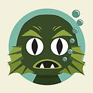 Little Creature from the Black Lagoon by renduh