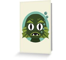 Little Creature from the Black Lagoon Greeting Card