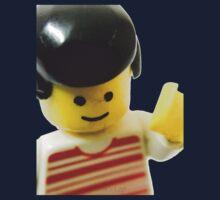 Retro Lego Minifigure Baby Tee