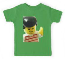 Retro Lego Minifigure Kids Tee