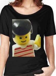 Retro Lego Minifigure Women's Relaxed Fit T-Shirt