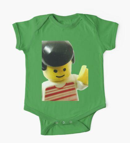 Retro Lego Minifigure One Piece - Short Sleeve