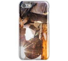 metal cutting vintage iPhone Case/Skin