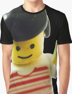 Retro Lego Minifigure Graphic T-Shirt