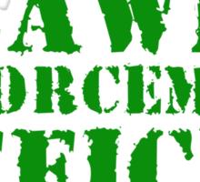 Lawn Enforcement Officer Sticker