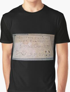 Joan Crawford: May This Cement Our Friendship Graphic T-Shirt