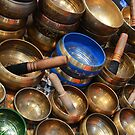 Singing Bowls - One of a Kind, Festival of the Orient, Milan, Italy 2016 by Igor Pozdnyakov
