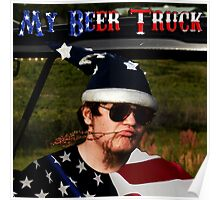 My Beer Truck Poster Poster