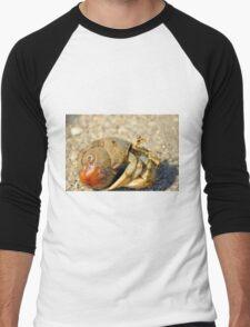 Hermit Crab Men's Baseball ¾ T-Shirt