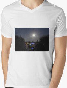 Super Moon, As Is Mens V-Neck T-Shirt
