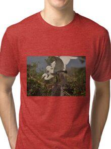 I Won't Look Tri-blend T-Shirt