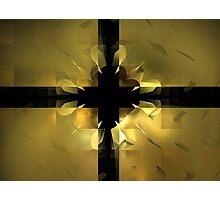 Gold Box Clover Photographic Print