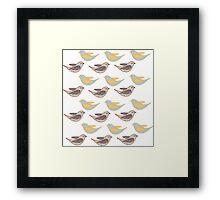 birds spring Framed Print