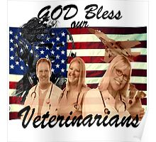 God Bless Our Vets - ONE:Print Poster