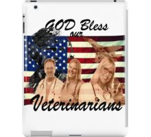 God Bless Our Vets - ONE:Print iPad Case/Skin