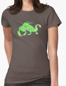 The Green Beast Womens Fitted T-Shirt