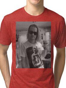 Macaulay Culkin Wearing Gosling Wearing Self Tri-blend T-Shirt
