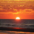 Red Sunrise by ClaireSinclair