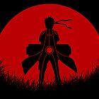 Red Moon Naruto by epyongart