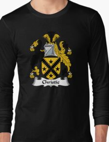 Christie Coat of Arms / Christie Family Crest Long Sleeve T-Shirt