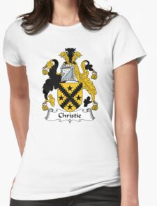 Christie Coat of Arms / Christie Family Crest Womens Fitted T-Shirt
