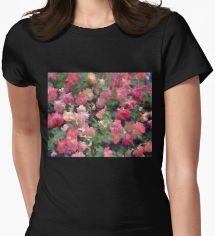 Rose 356 Womens Fitted T-Shirt