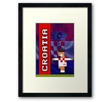 World Cup 2014: Croatia Framed Print