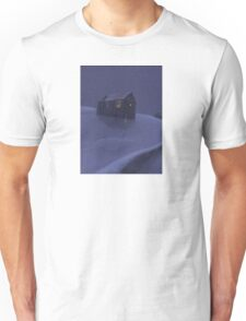 Snowy Barn Unisex T-Shirt