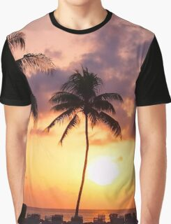 Relaxation and Vacation in a Caribbean Paradise Graphic T-Shirt