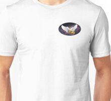 Flying Space Burrito - elipse Unisex T-Shirt