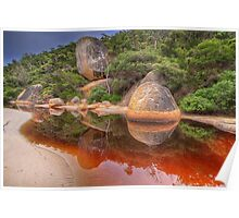 Tidal River reflection - Wilsons Prom Poster