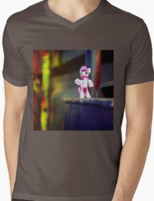 pony Mens V-Neck T-Shirt