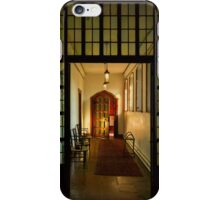 Red house-Corridor iPhone Case/Skin