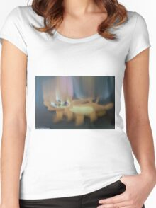 Jerry Falling Women's Fitted Scoop T-Shirt