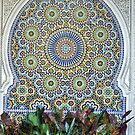 Mosaic and Planter by Kim McClain Gregal