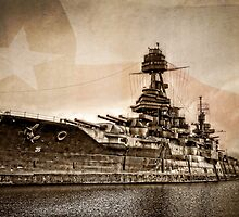 USS Texas by Ken Smith