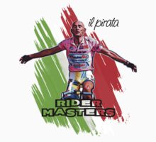 Marco Pantani Style - Italy -> Il Pirata (The Pirate) by artguy24